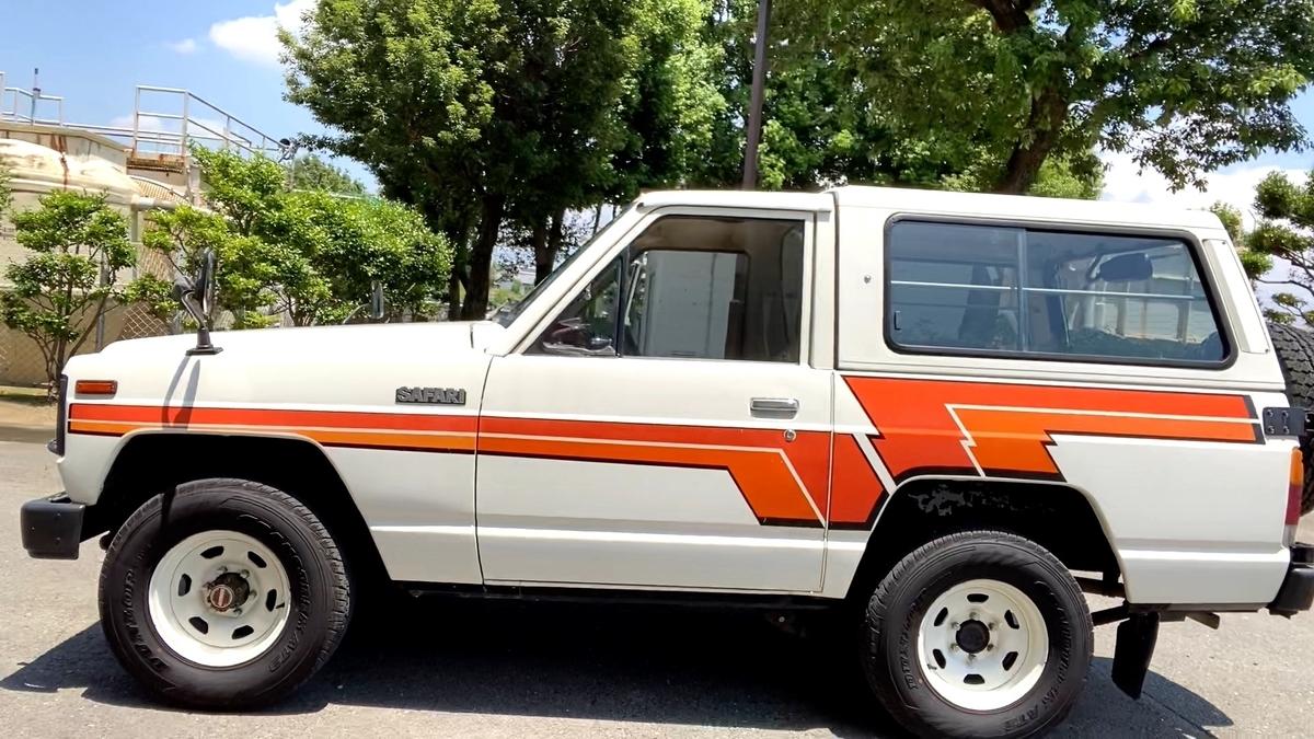 日産 サファリ 初代 160 ディーゼル