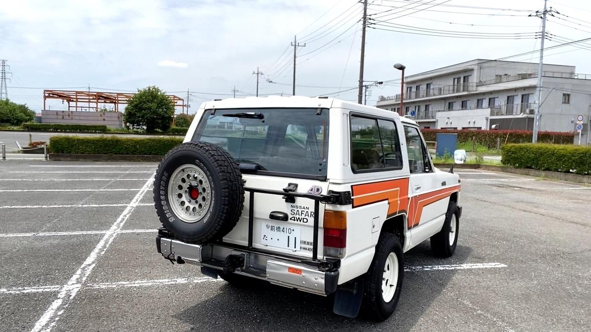 日産 サファリ 160 (初代 1980-1987) パトロール