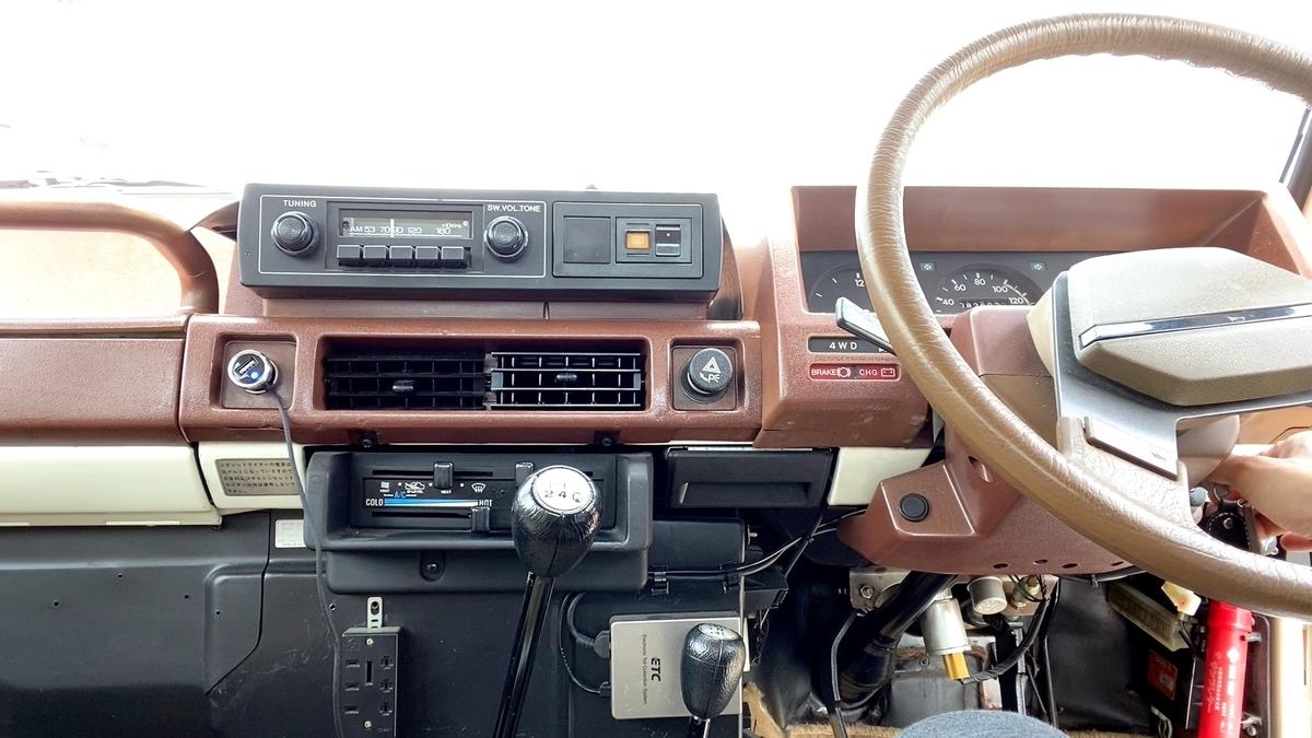 1980 NISSAN PATROL SAFARI 160 【初期型サファリ】