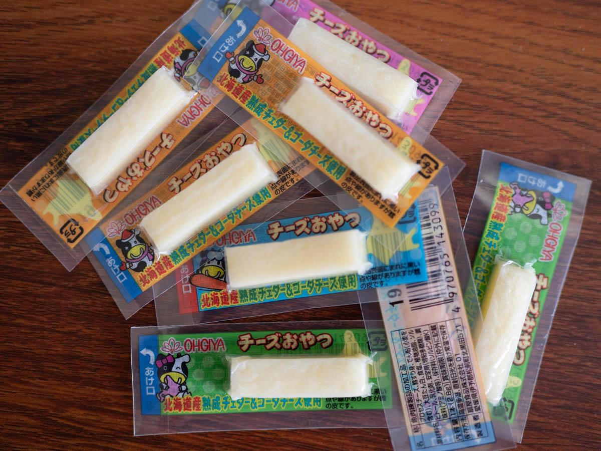 チーズおやつ北海道
