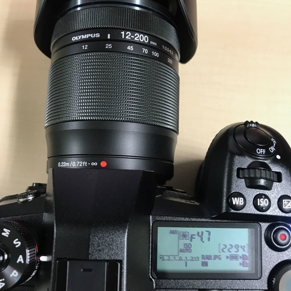 25mmでF4.7