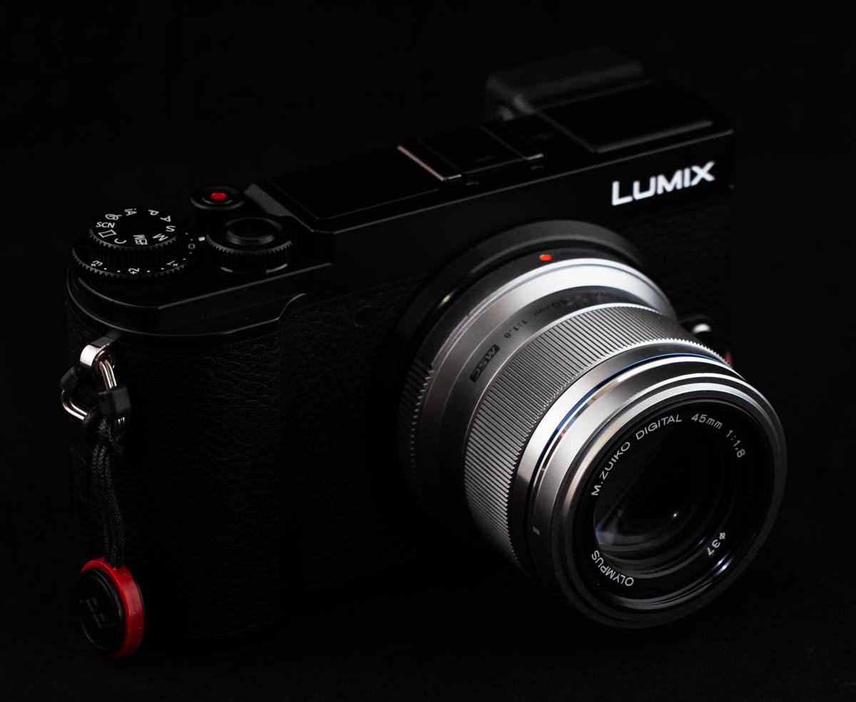 GX7 markIIIに装着した45mm F1.8