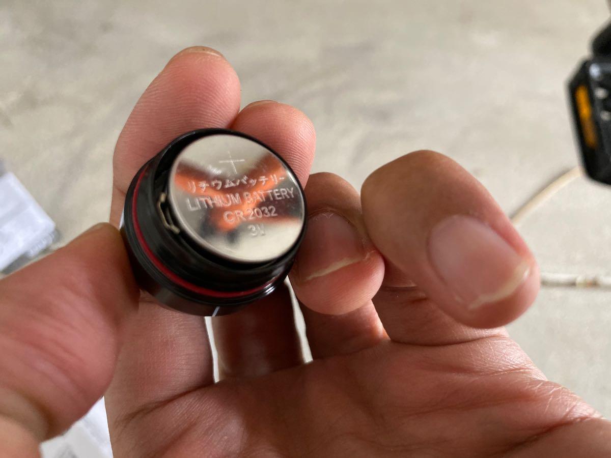 電池の方向