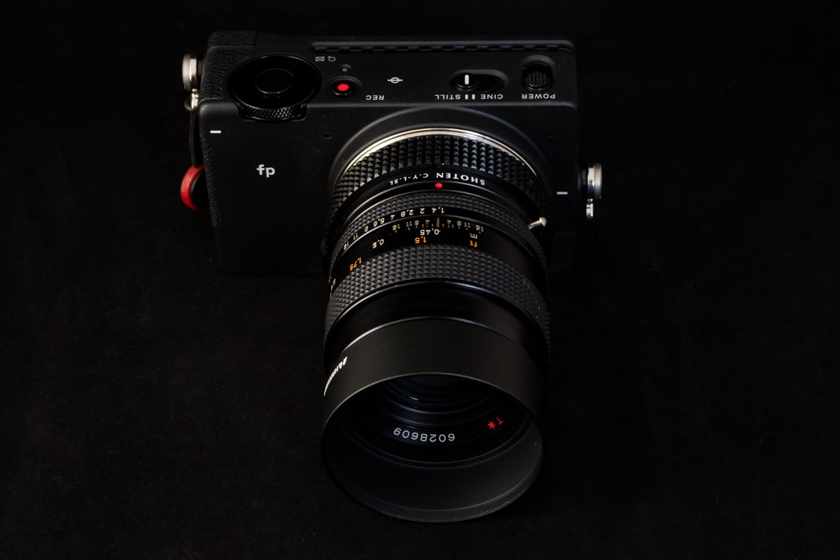 CONTAX Carl Zeiss Planar 50mm F1.4