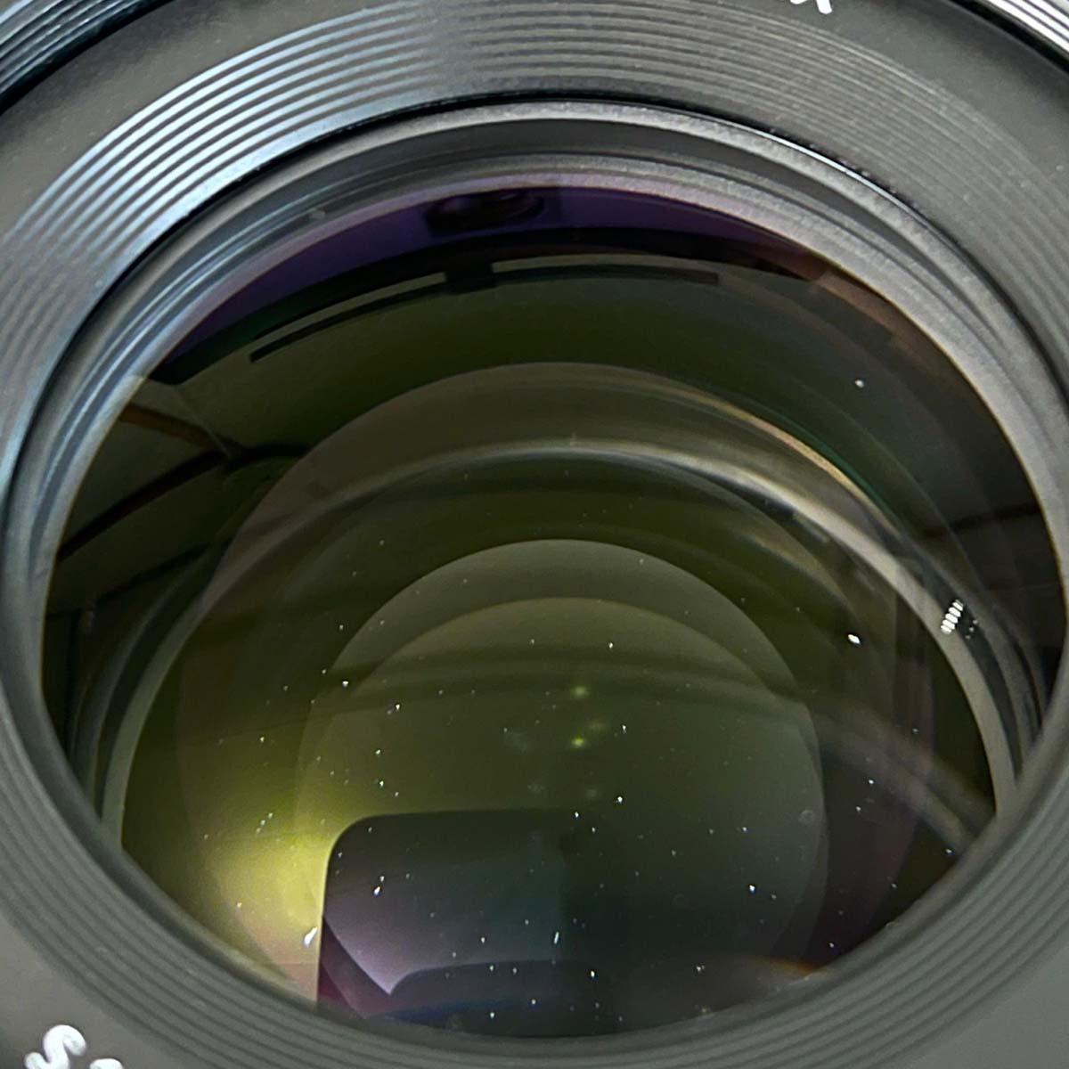 レンズのゴミ