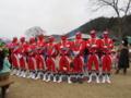 京都新聞写真コンテスト 暖を取る
