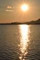 京都新聞写真コンテスト 二つの太陽