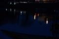 京都新聞写真コンテスト 湖面の町灯り