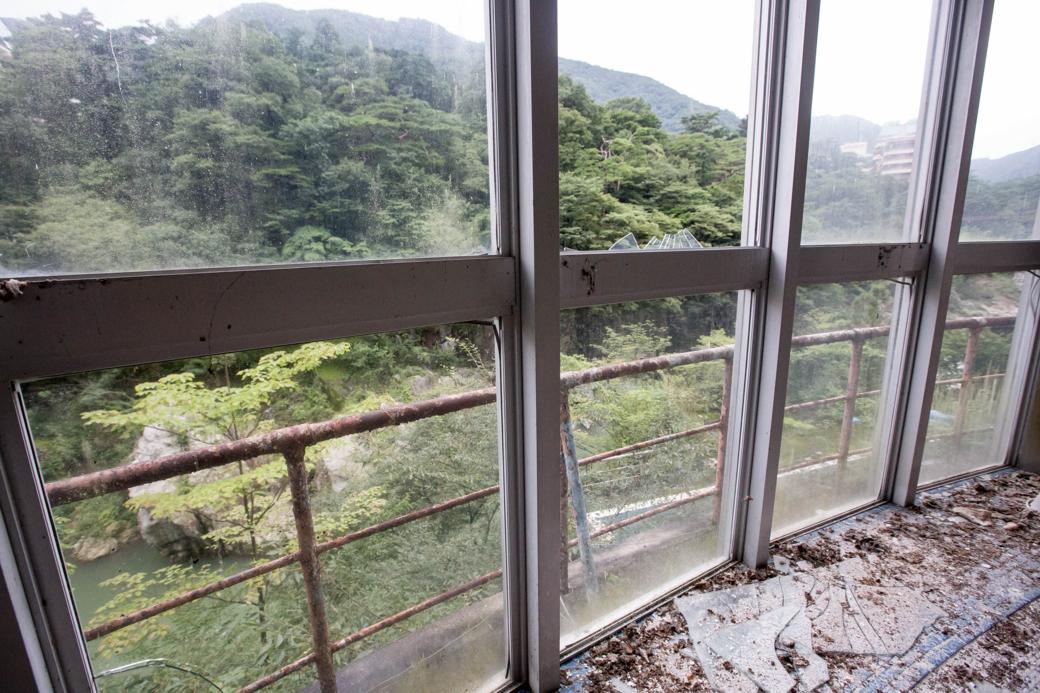 鬼怒川の景色