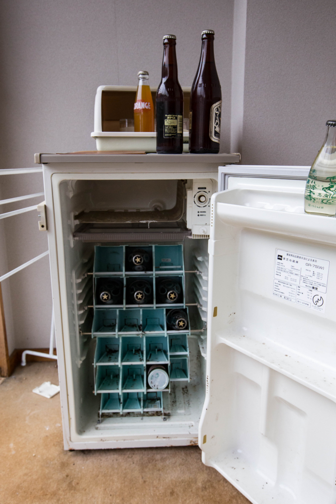 未だにビールが入っている冷蔵庫