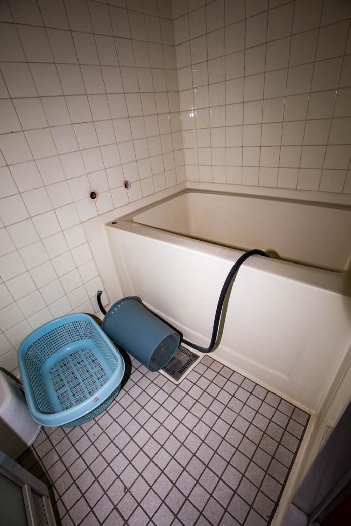 客室の風呂場