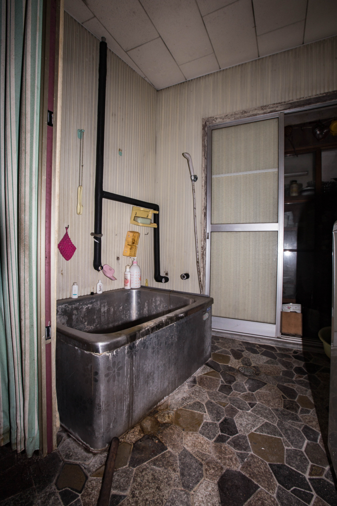 鉄製の家庭用風呂