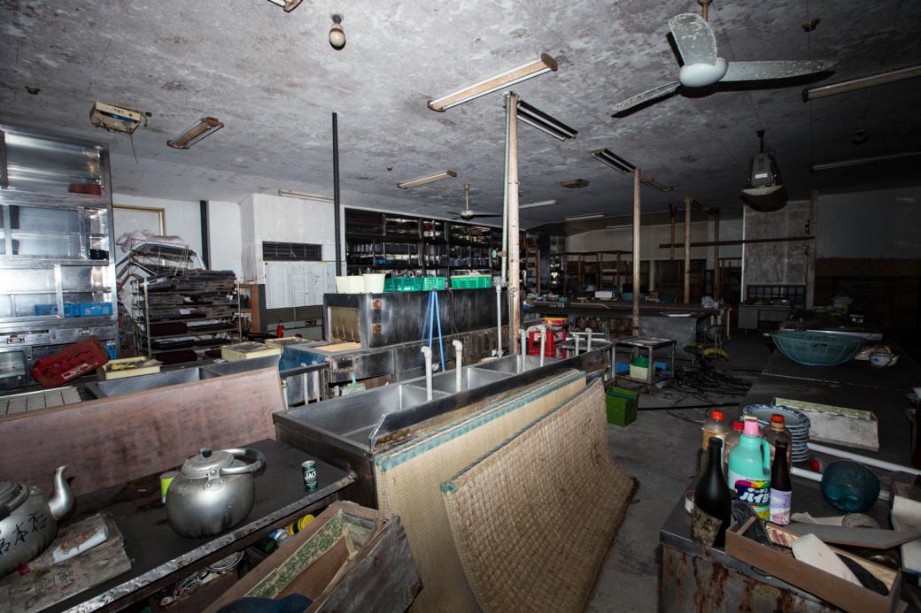 広いけどどこか寂しい調理室