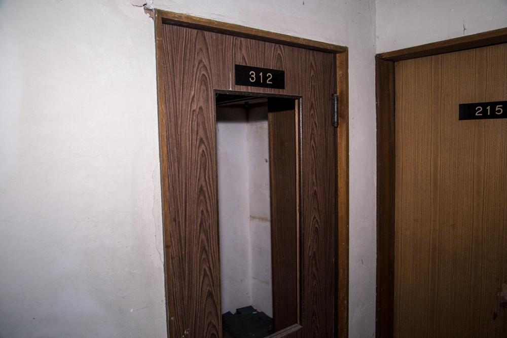 312号室の扉