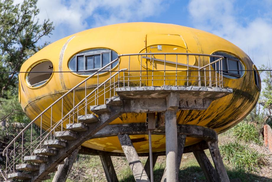 マッティ・スーロネンによって設計されたUFO住宅