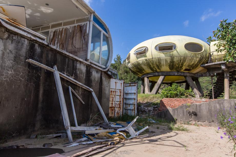 最初に見つけたUFO住宅
