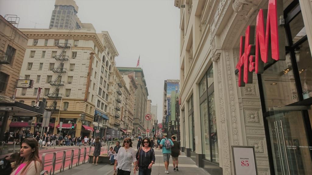 サンフランシスコの街並み