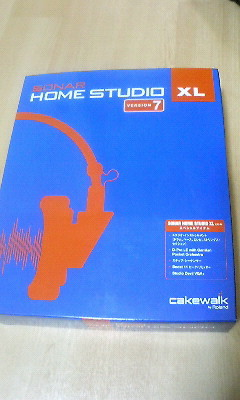 SONAR HOME STUDIO XL買いました