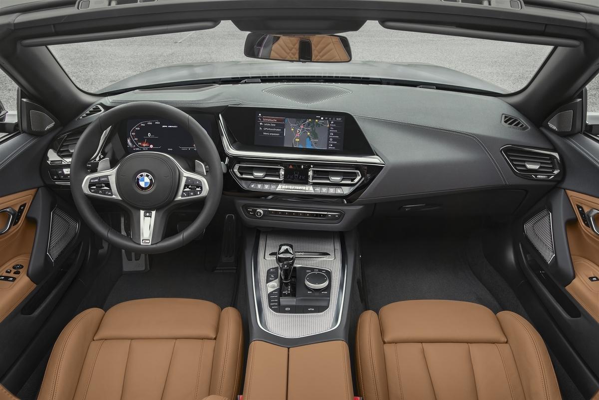 新型BMW Z4 インテリア