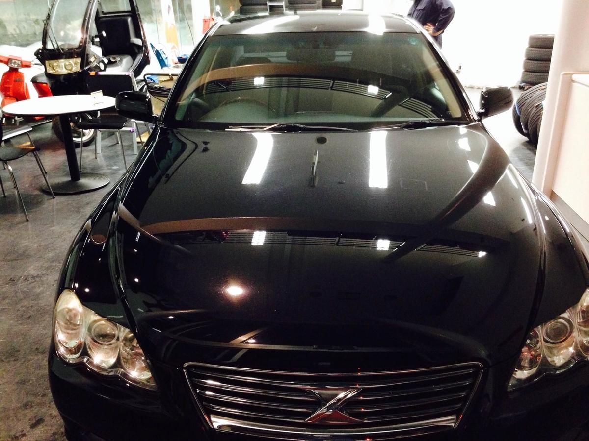 トヨタ/マークXのボディコーティング 1年間ノンワックス保証「マニキュアコート」札幌