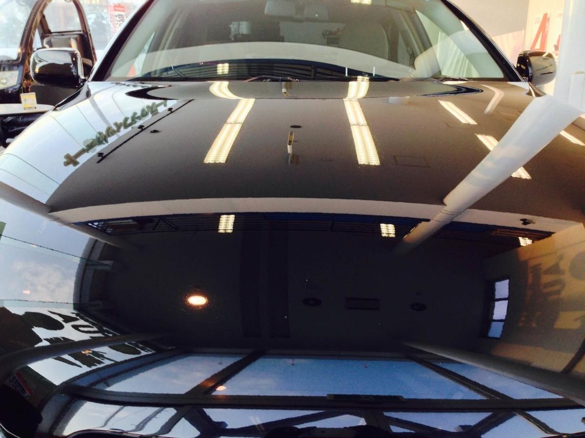 トヨタ/マークXのボディコーティング 1年間ノンワックス保証「マニキュアコート」札幌2