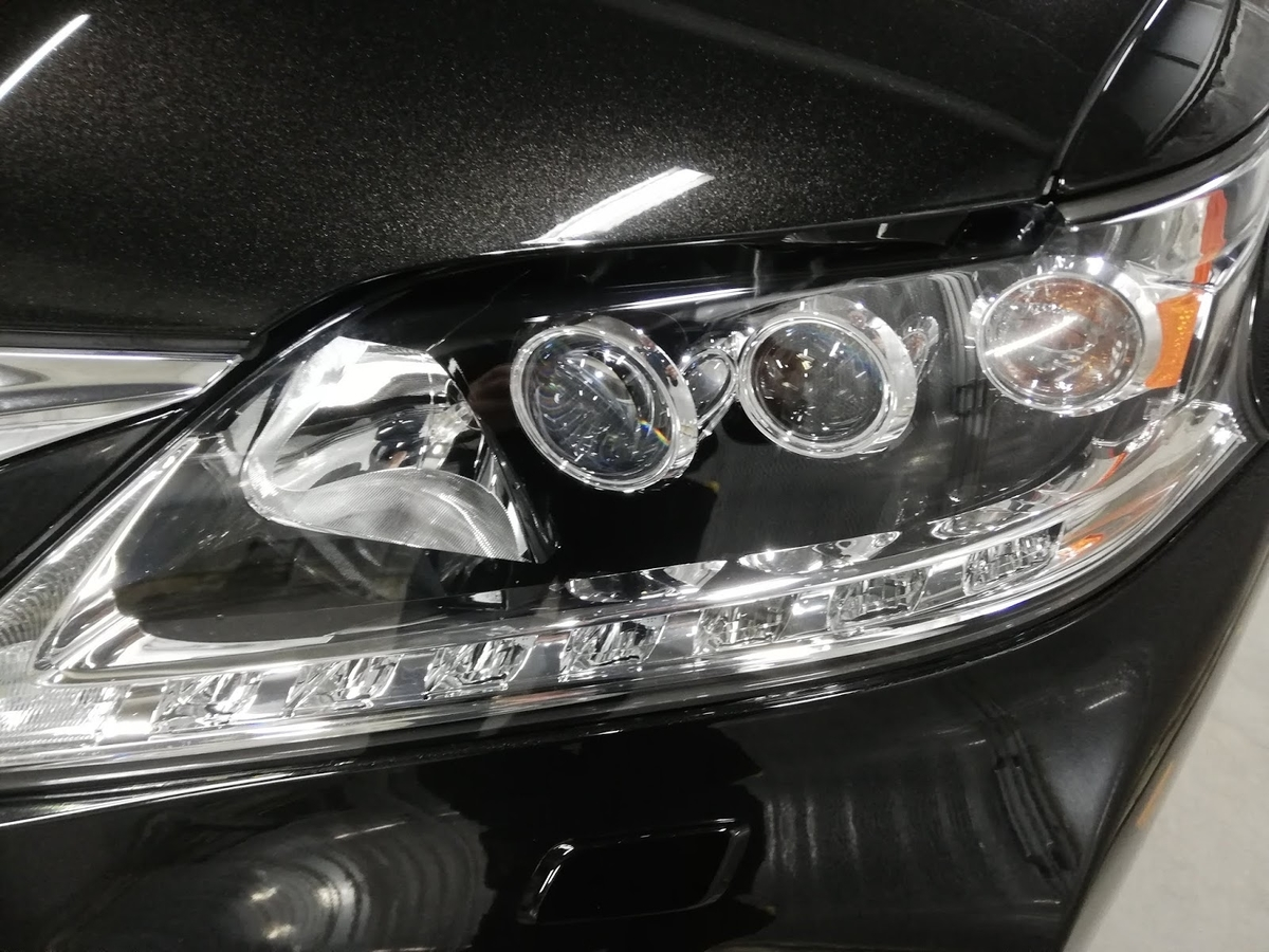 レクサス/RX450h FSPORT ヘッドライトの劣化+くすみ復元リペア2