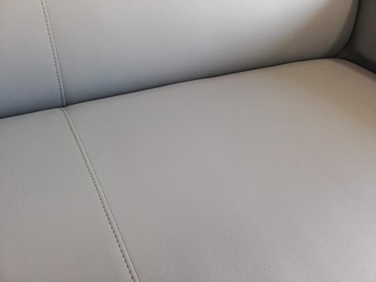 応接室ソファ タバコ焦げ穴・劣化・落書きの補修