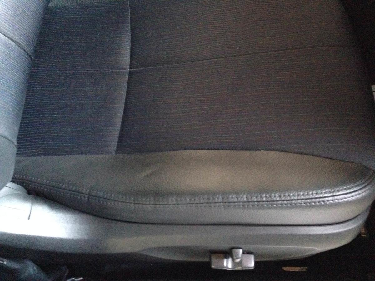 スバル/エクシーガ モケットシート焦げ穴+レザーシートの破れ補修 札幌1