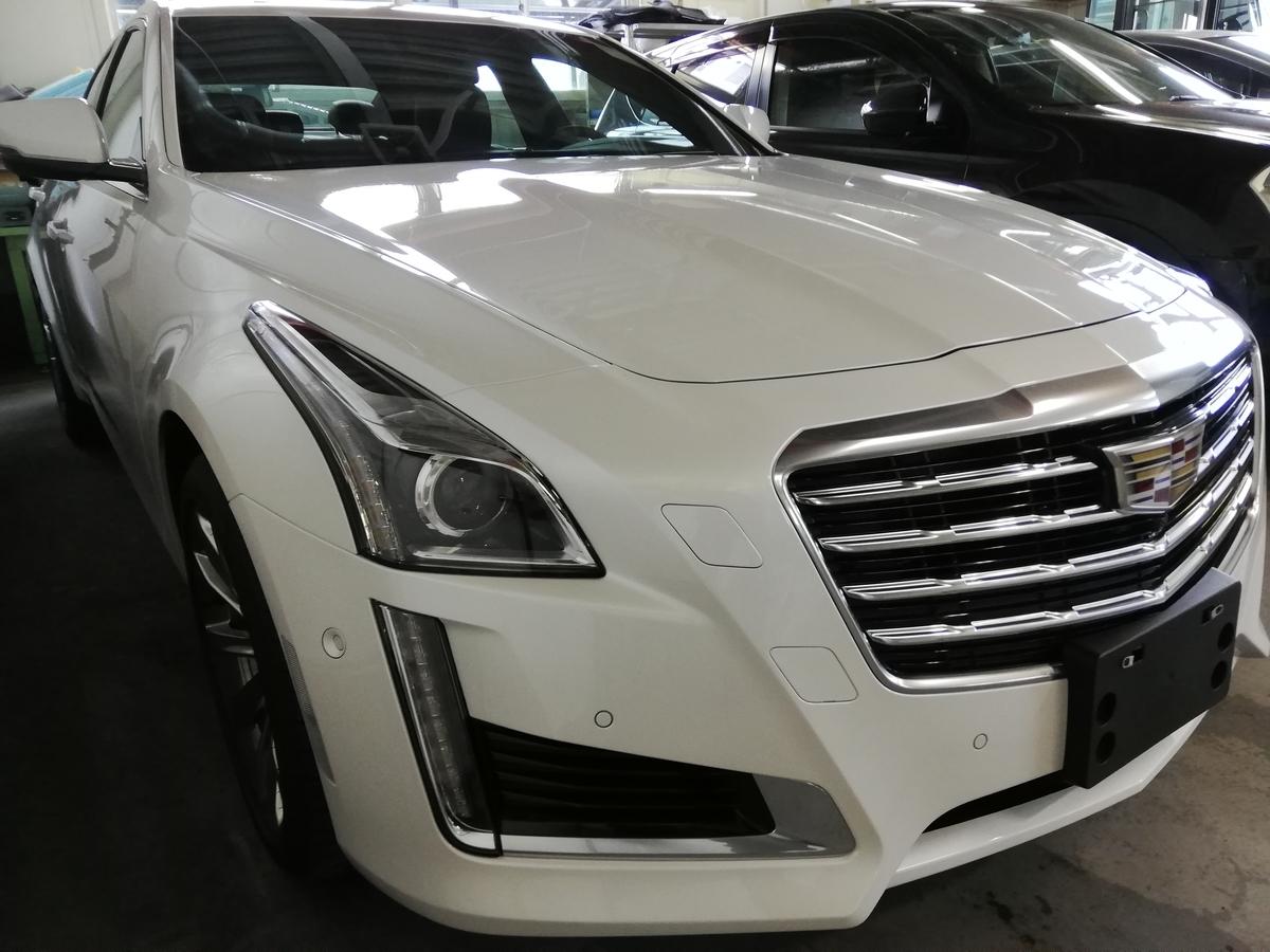 キャデラック/CTS新車 樹脂硬化型ボディーコーテイング 札幌