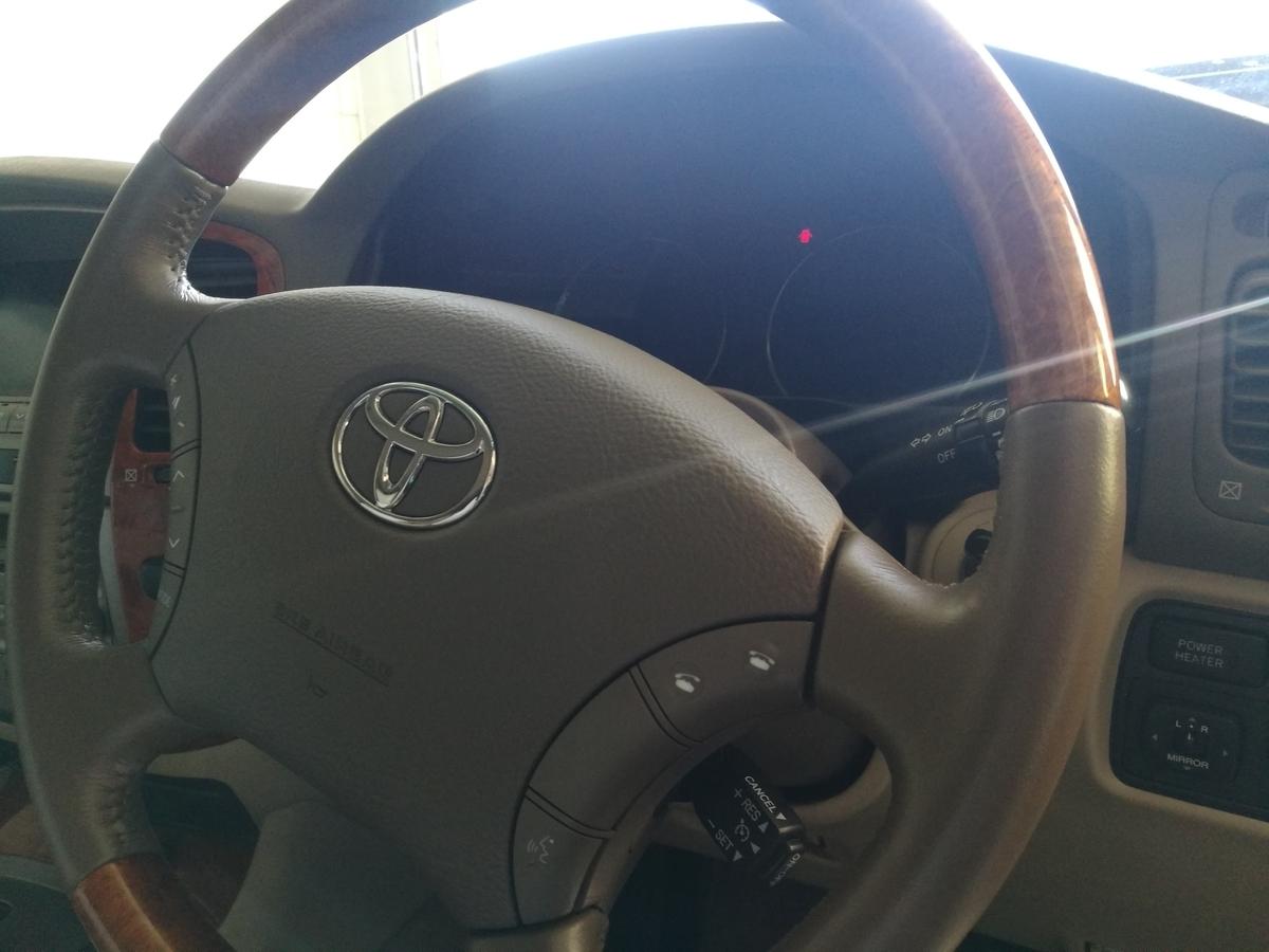 トヨタ/ランドクルーザー ウッドコンビハンドル劣化・擦れの補修 札幌
