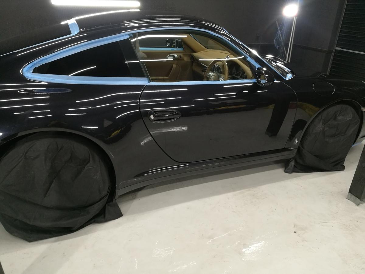 ポルシェ/911カレラ4S 樹脂硬化型ボディコーティング(プロコース) 札幌