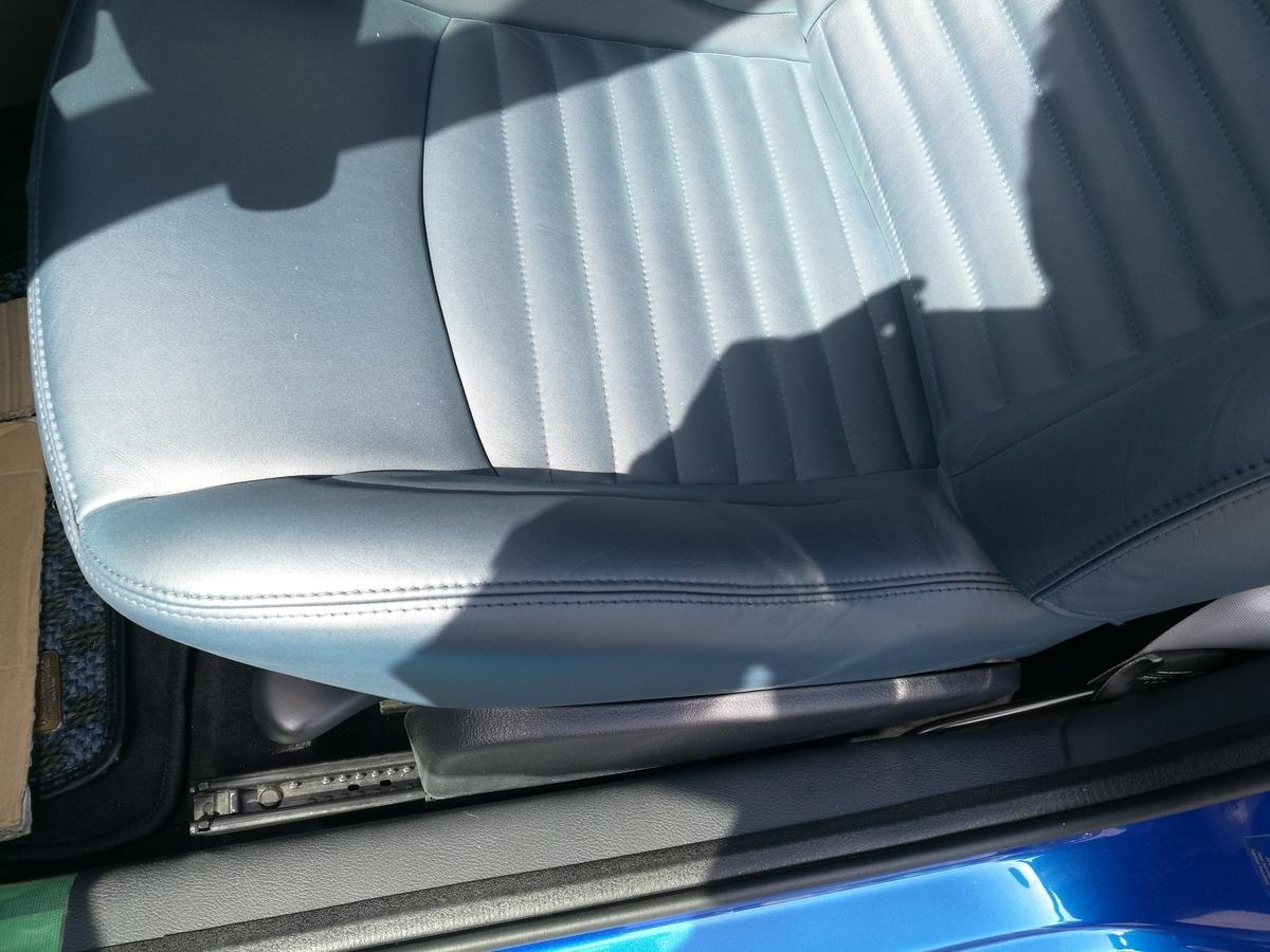 ルノー/ルーテシア ルノースポールV6 革シート劣化・擦れ・ひび割れの補修 札幌