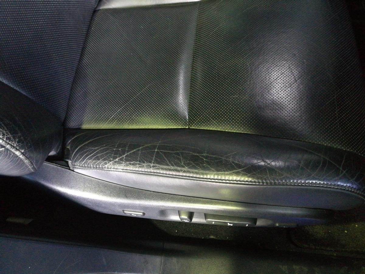 レクサス/RX Cコンソールアームレスト・本革シート劣化・擦れ・ひび割れの補修 札幌
