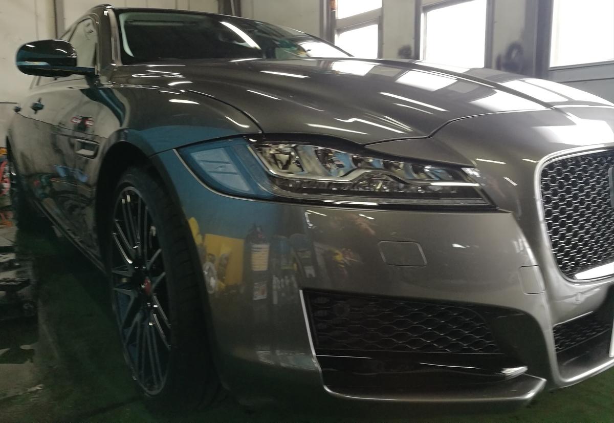 ジャガー/XF 新車車内クリーニング+フッ素樹脂簡易コーティング 札幌