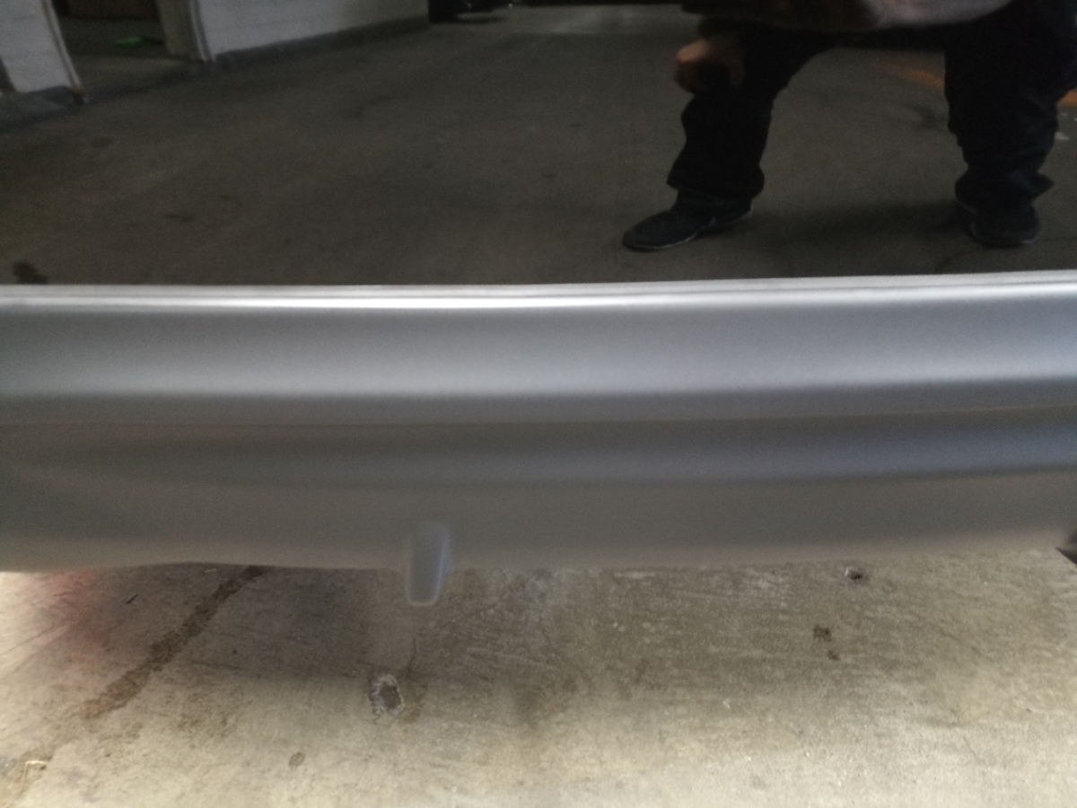 LEXUS/RX450hl バンパー素地液だれ・変色の補修+保護コーティング 札幌