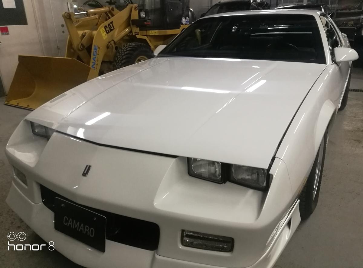 シボレー/カマロRS90年式 外装簡易仕上げ 札幌