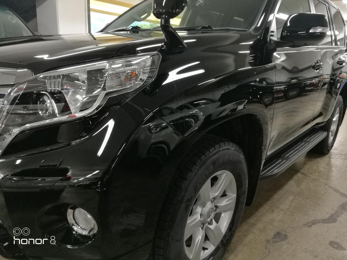 トヨタ/ランドクルーザープラド 超撥水型ガラスコーティング 札幌