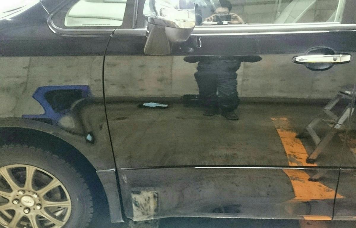 トヨタ/VOXY18年式 ボディコーテイング札幌3