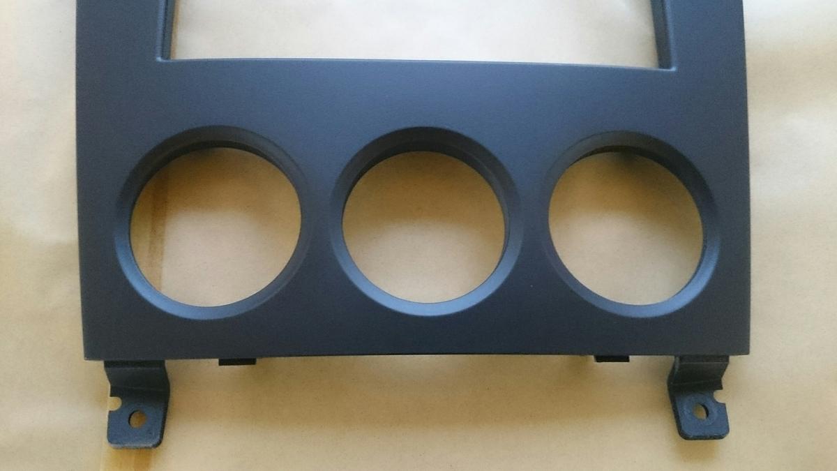 スバル/フォレスター センターパネル塗装剥がれの補修札幌3