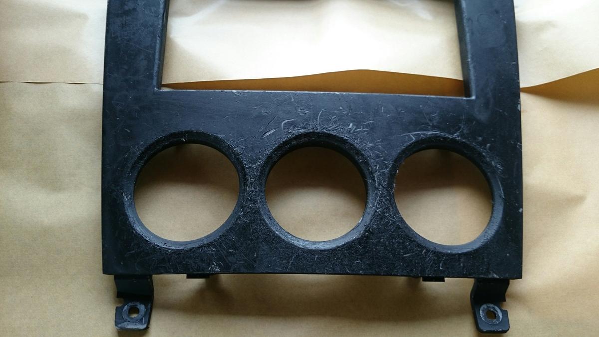 スバル/フォレスター センターパネル塗装剥がれの補修札幌2