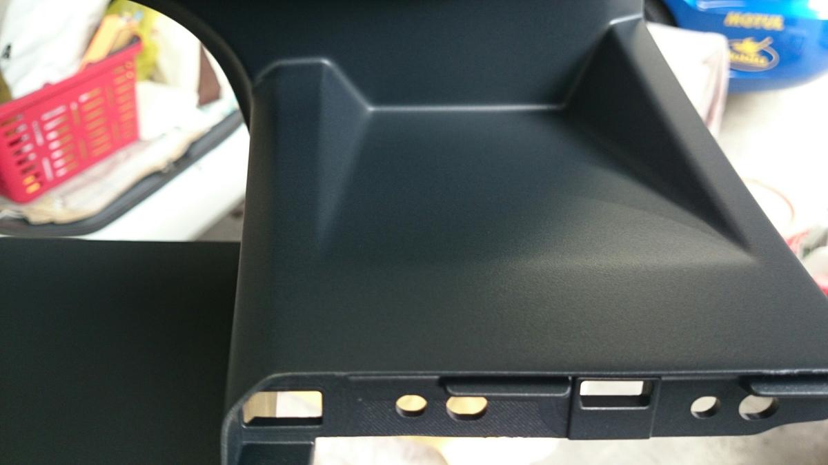 ホンダ/ステップワゴン ダッシュボード・エアコンパネルのスクラッチ傷補修札幌3