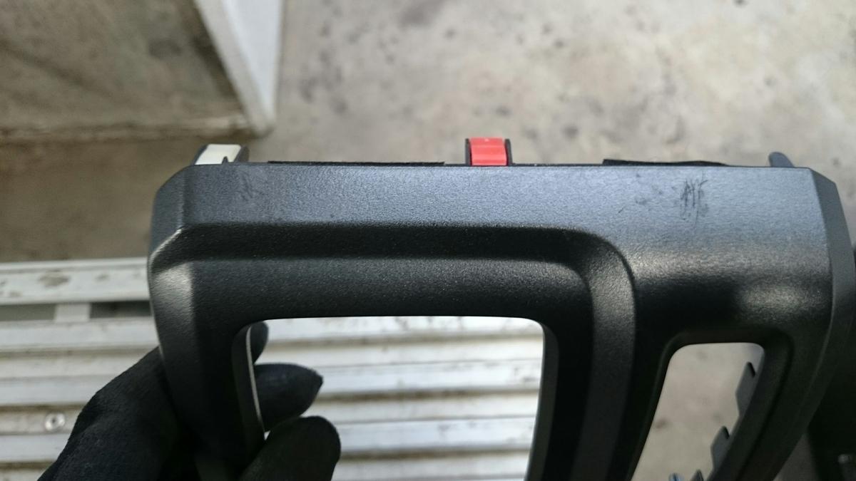 ホンダ/ステップワゴン ダッシュボード・エアコンパネルのスクラッチ傷補修札幌