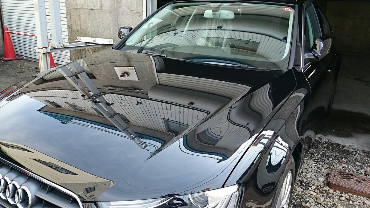 アウディ/A4  磨き+ボディの無機ガラスコーティング札幌