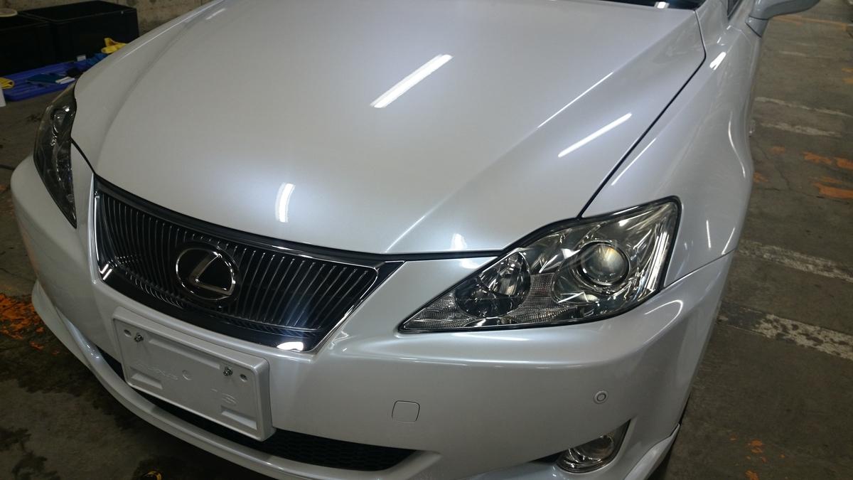 レクサス/CT  IS  RX ボディのガラスコーティング札幌1