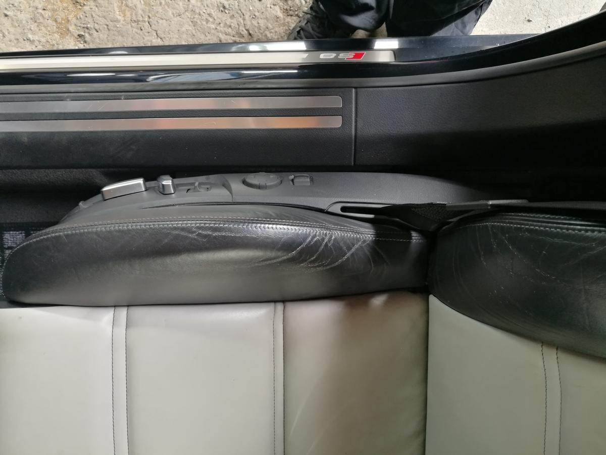アウディ/S8 本革シート劣化・擦れ・色褪せの補修 札幌
