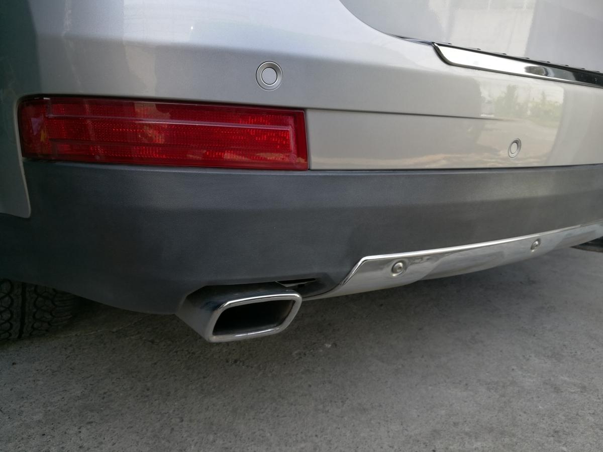 メルセデス・ベンツ/GL550 リアバンパー素地色褪せの 塗装+コーティング 札幌