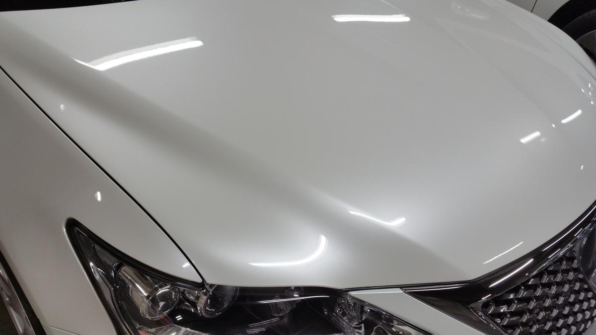 レクサス/CT F SPORT ボディの無機ガラスコーティング札幌2