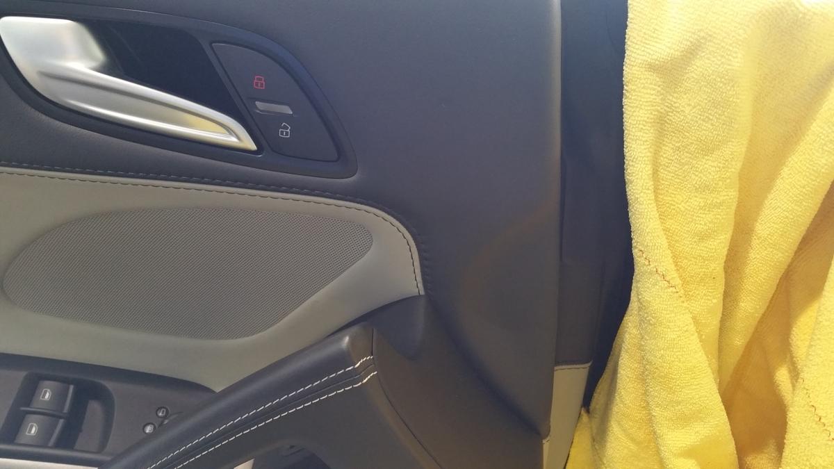Audi/R8 内張り・本革シート擦れ+傷補修 札幌