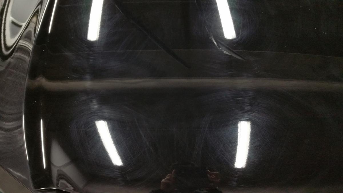 ホンダ/ヴェゼル ボディの研磨+ガラスコーティング札幌1