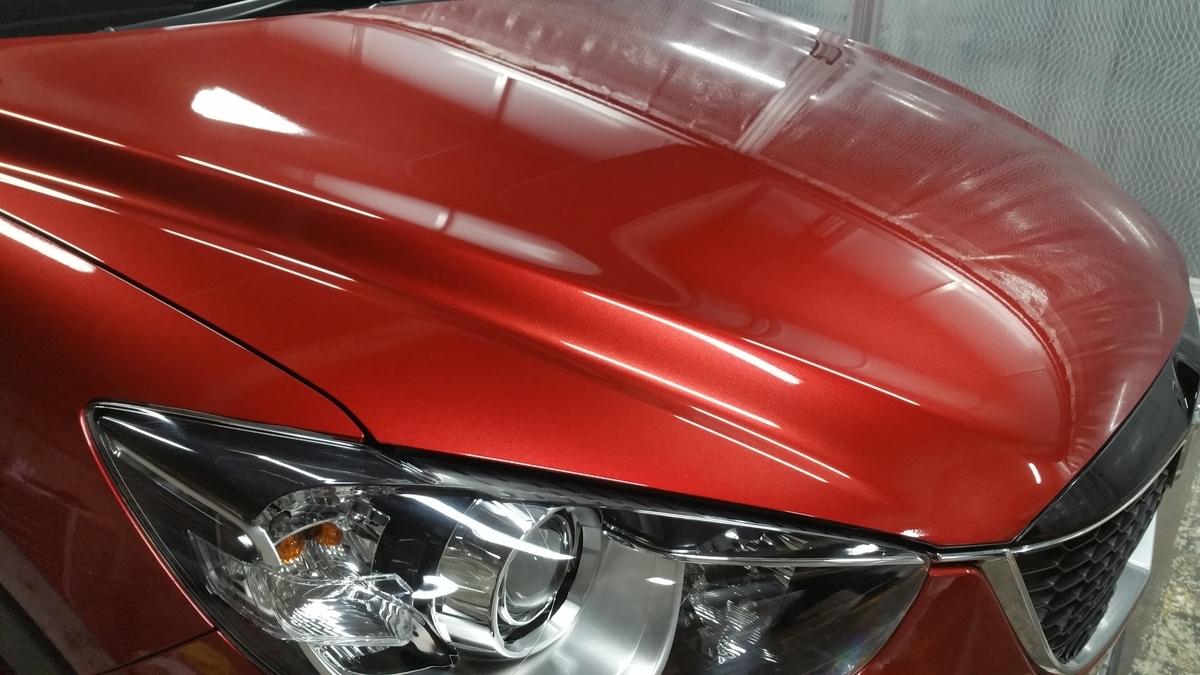 マツダ/CX-5 ボディの研磨+ガラスコーティング札幌